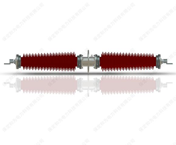 126kV胶浸纤维干式电容型穿墙瓷套管